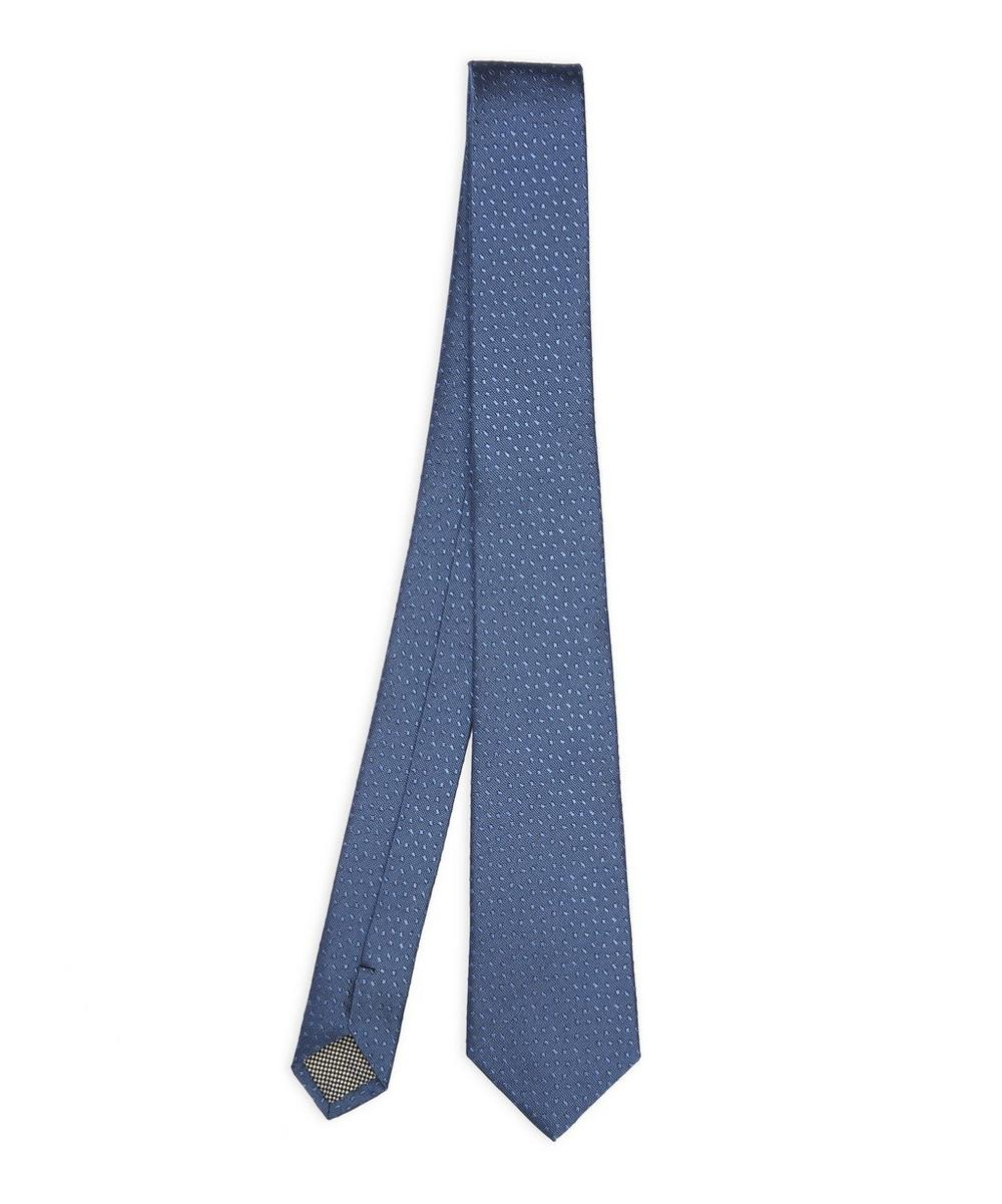 West End Staccato Tonal Dot Tie