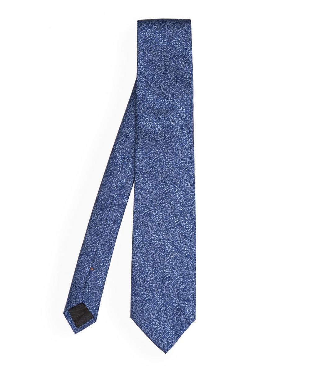 Peacock Tonal Tie