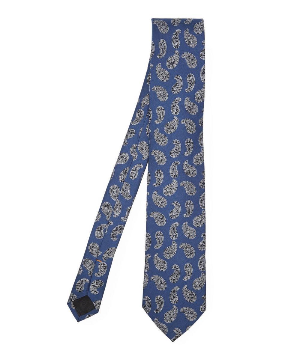Paisley Block Print Tie