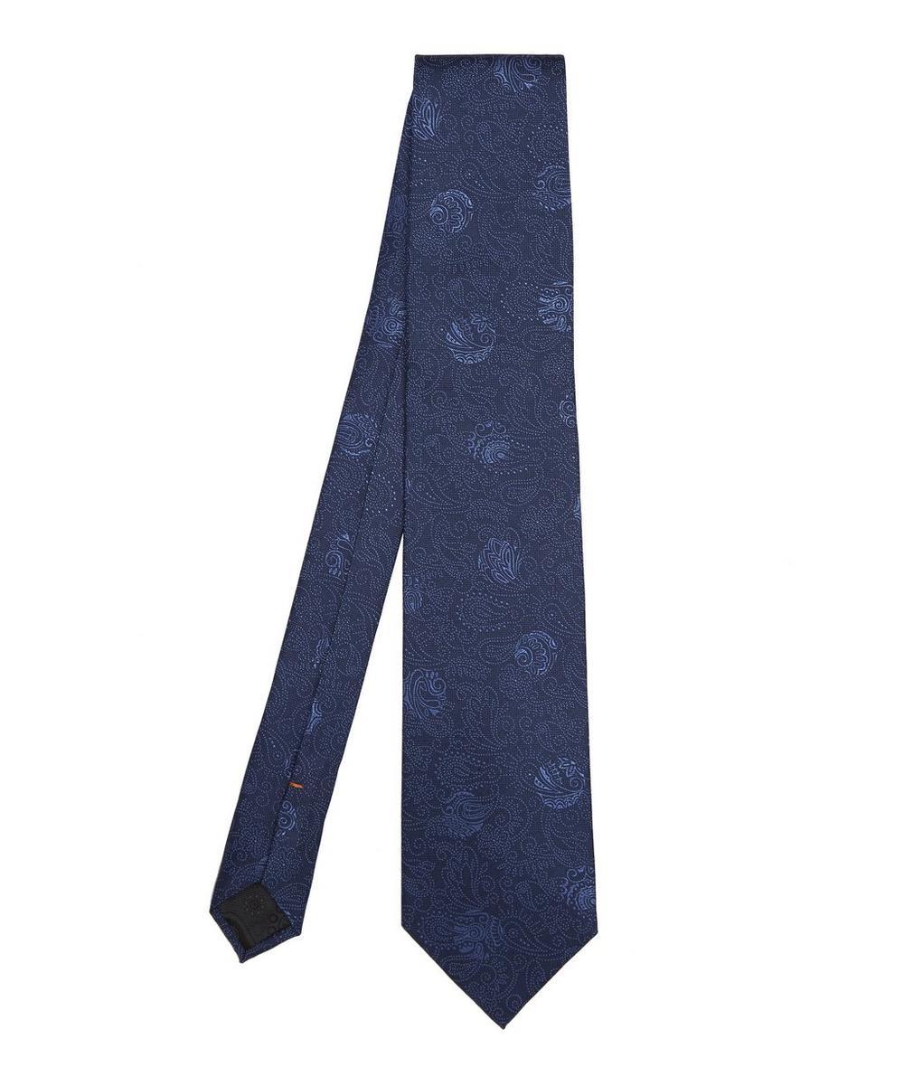 Mandarin Tonal Print Tie
