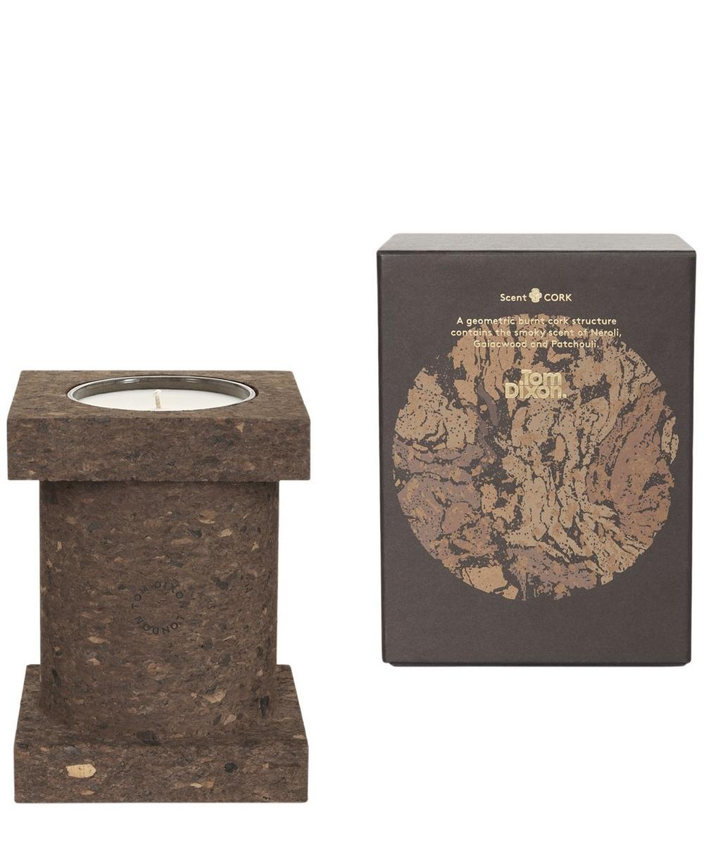 Large Materialism Cork Candle