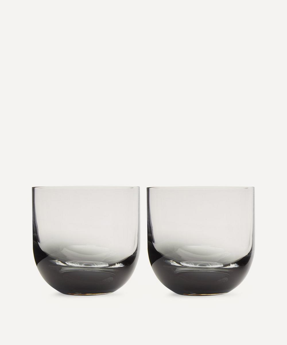 Black Tank Whisky Glasses Set