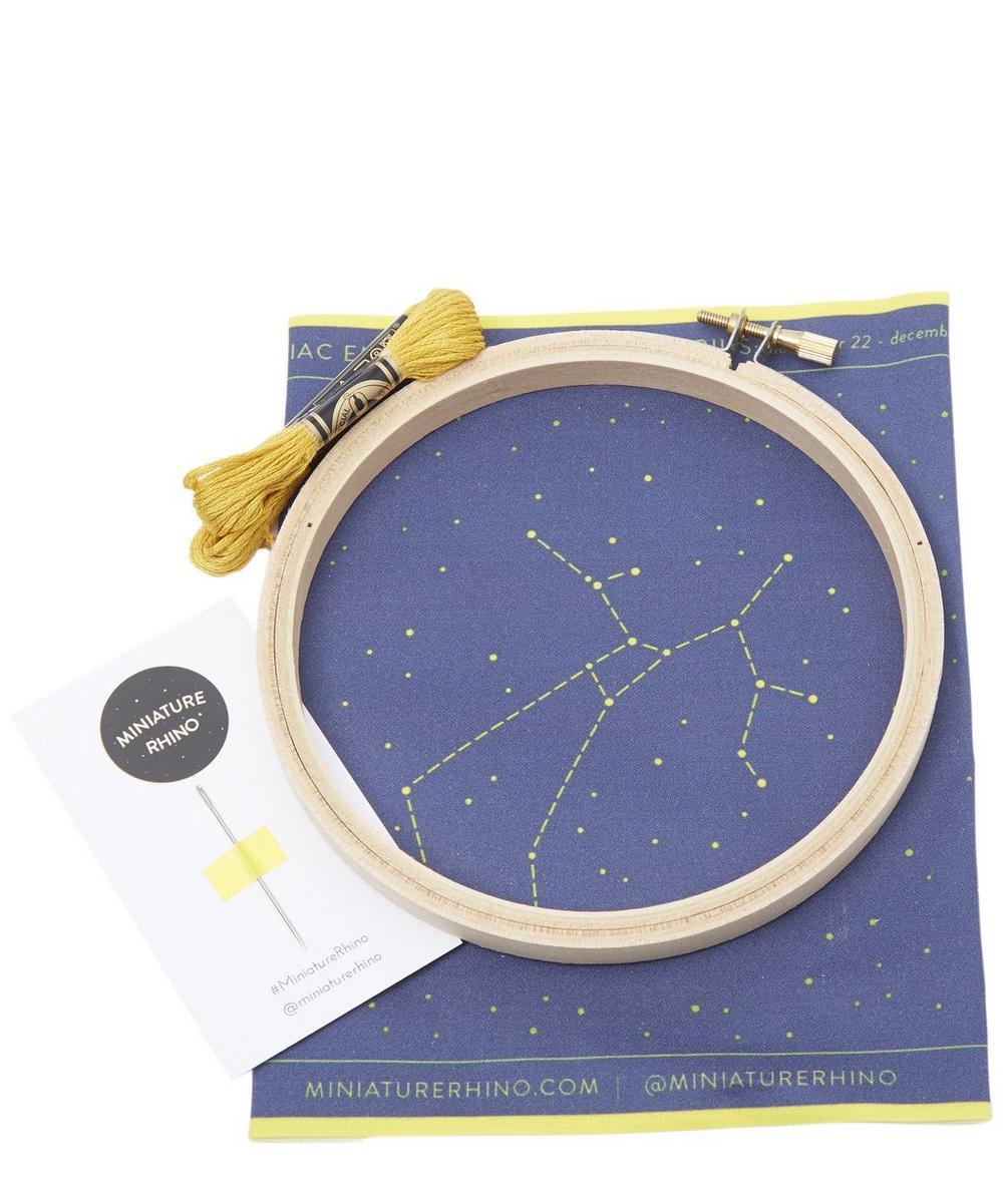 Sagittarius Zodiac Embroidery Kit