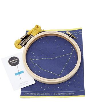 Capricorn Zodiac Embroidery Kit