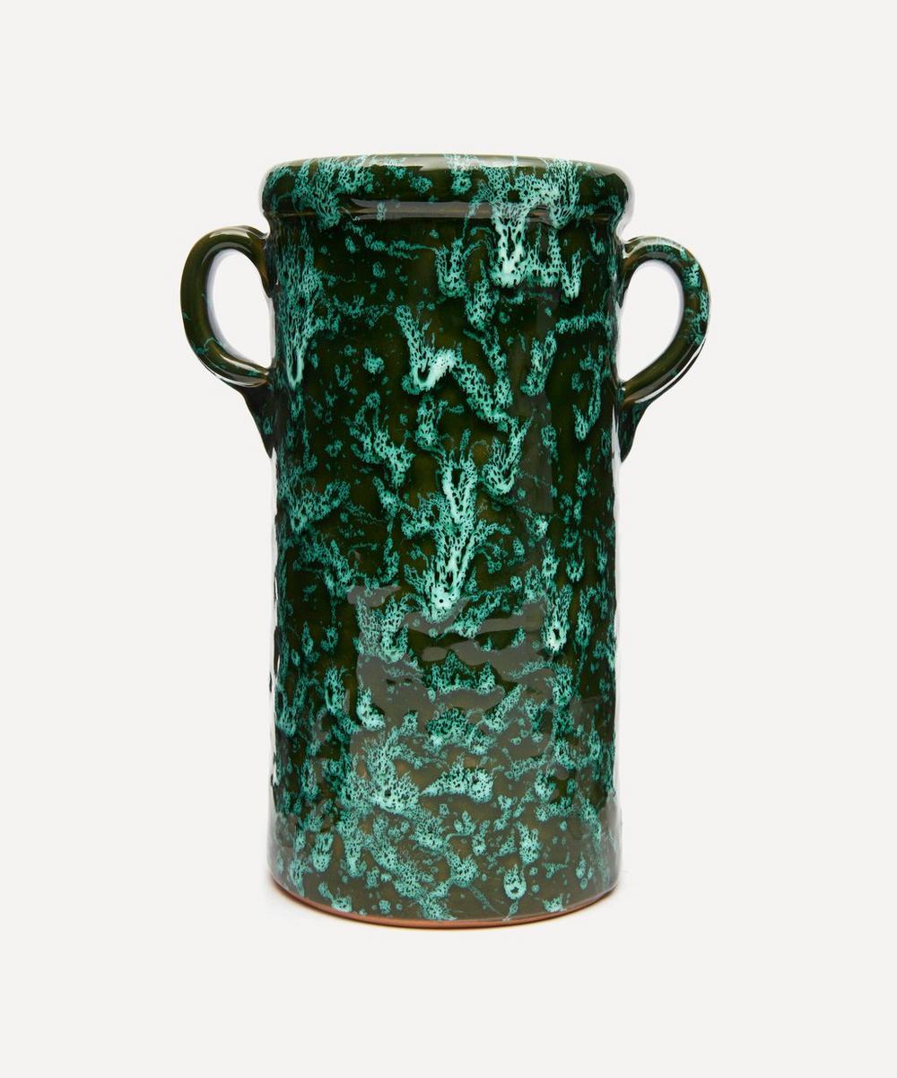 Tall Splatter Jar