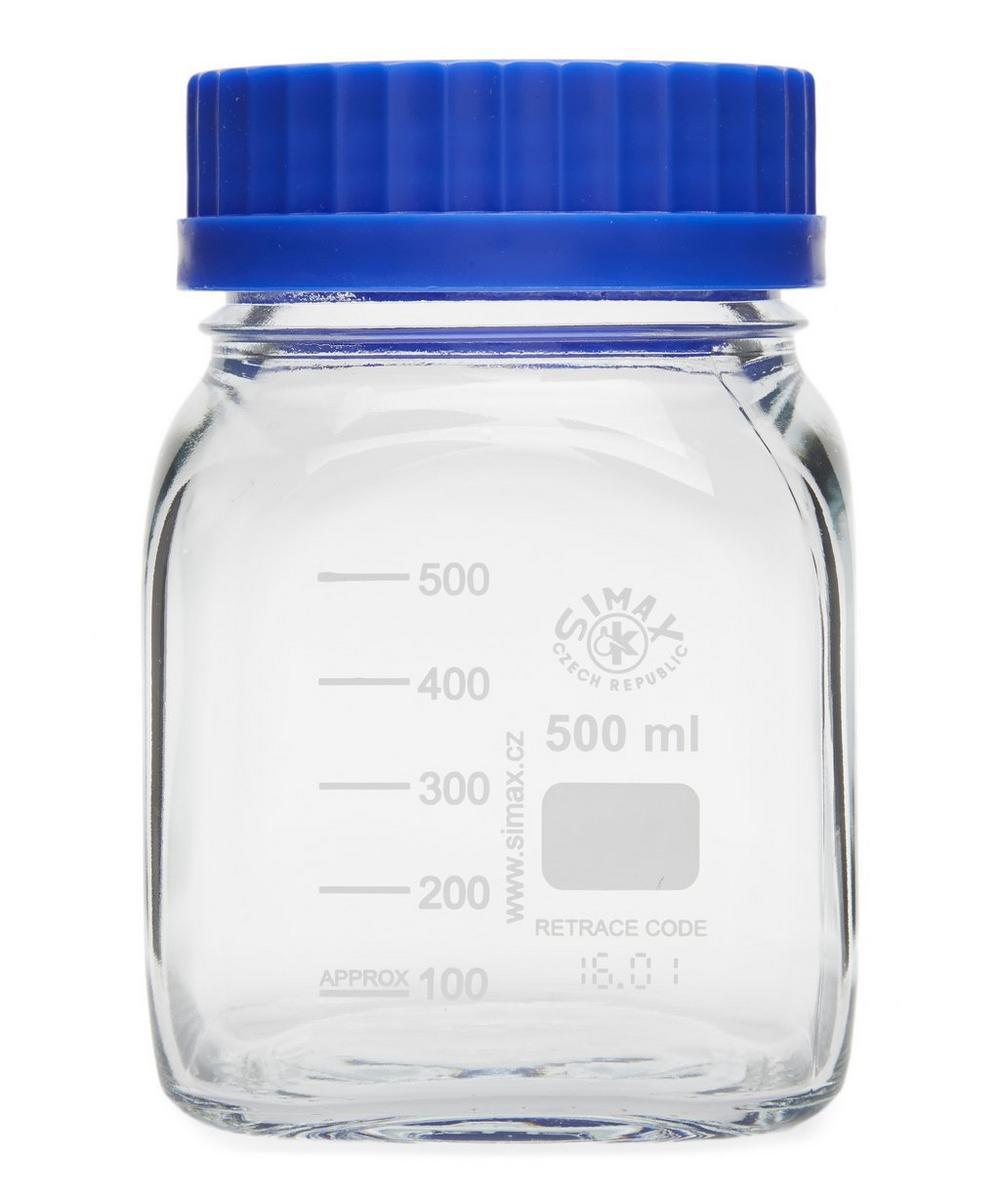 Medium Square Laboratory Glass Container