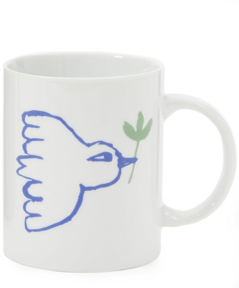 Dove White Mug