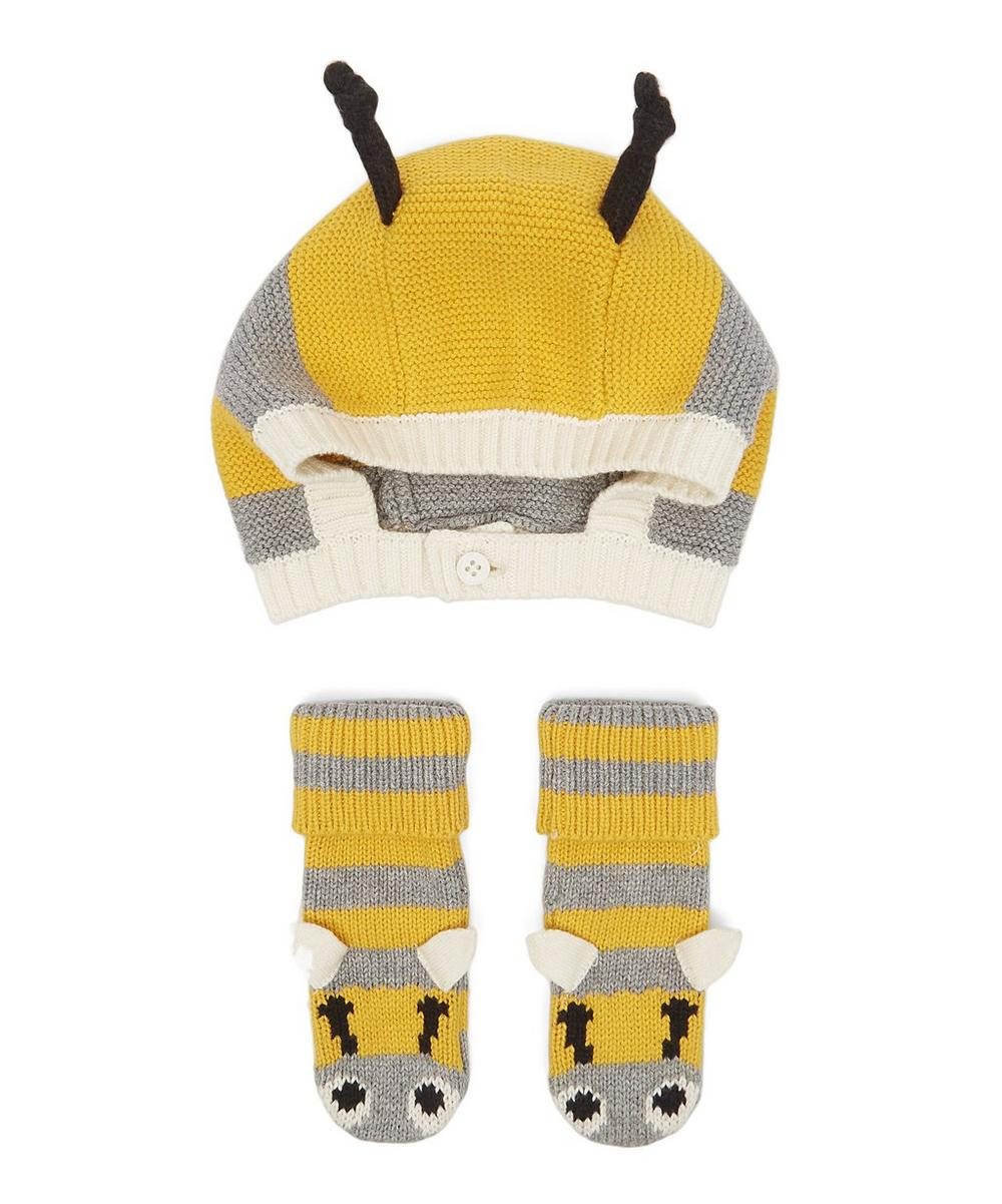 FLOPSY + CHIPS BEE HAT AND BOOTIES SET