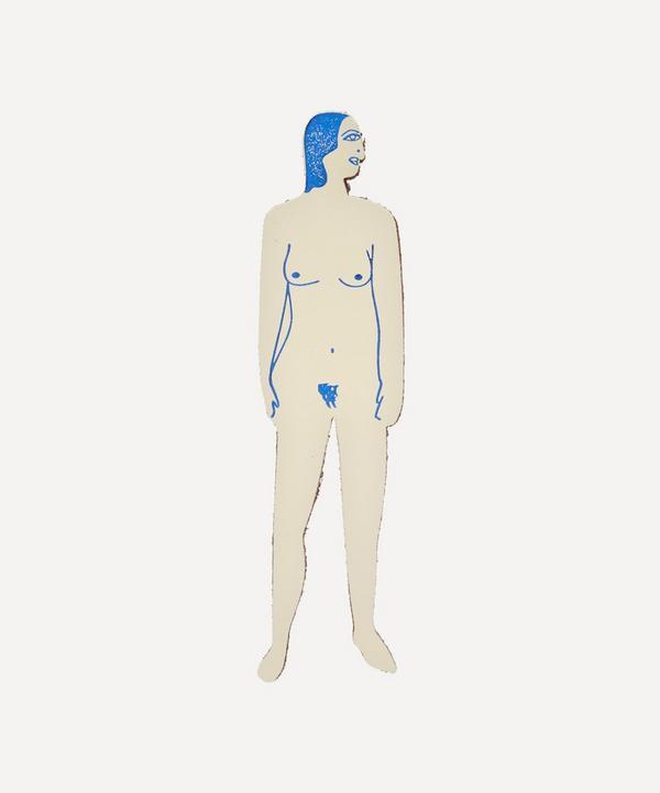 Ark - Nudist Tattooed Woman Bookmark