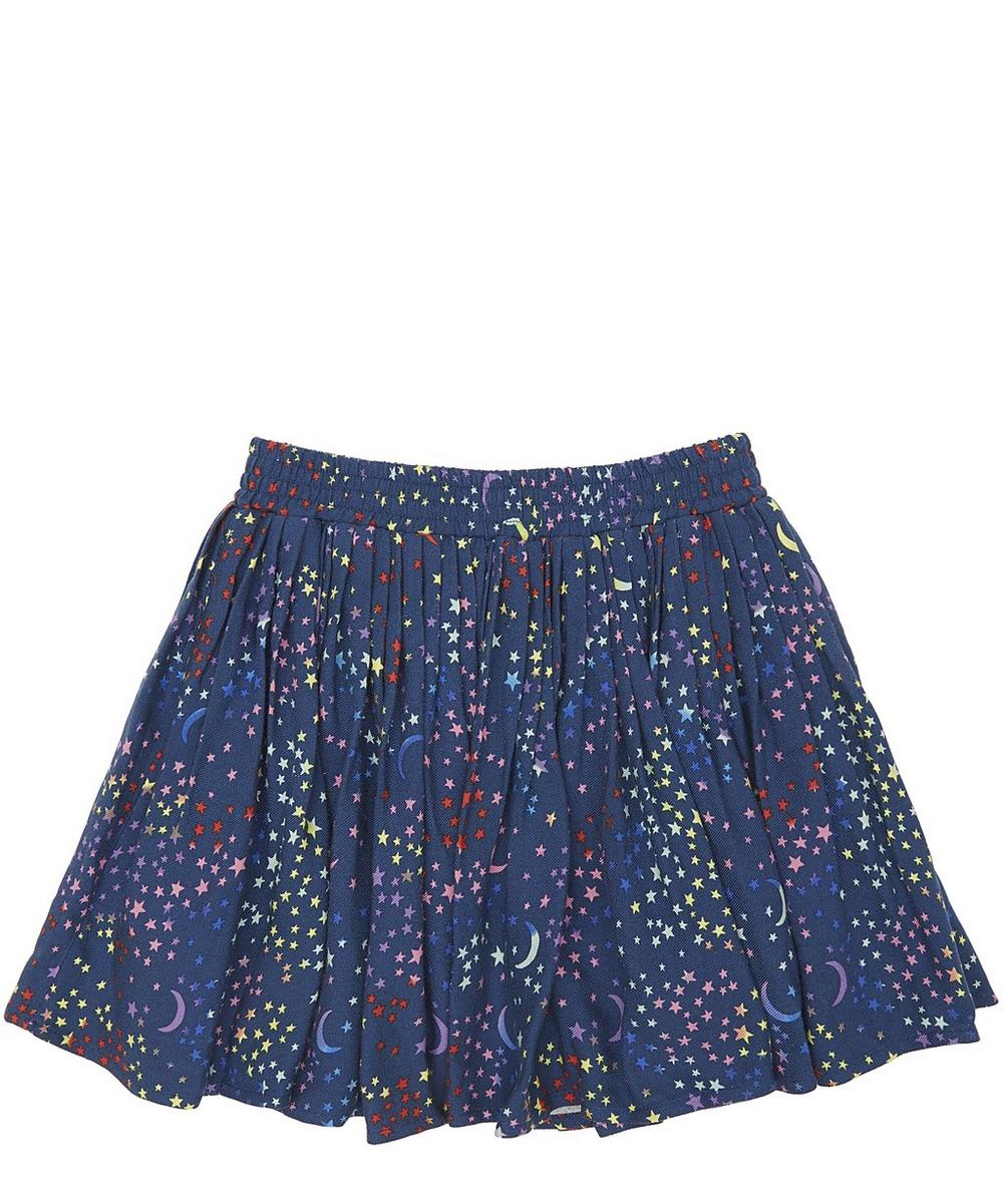LEA PLISSE STAR SKIRT 2-8 YEARS
