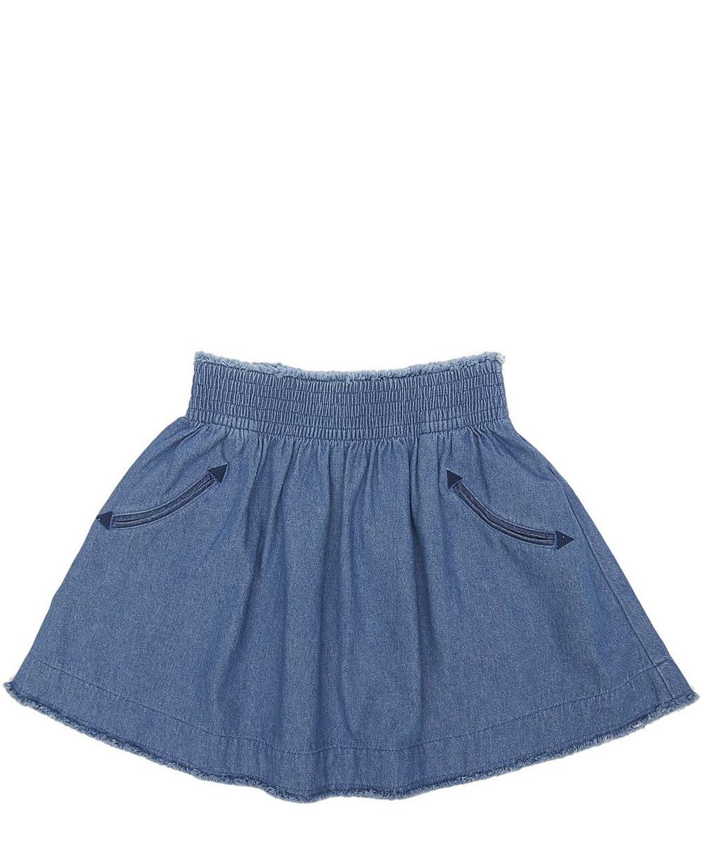 NAT DENIM SKIRT 2-8 YEARS