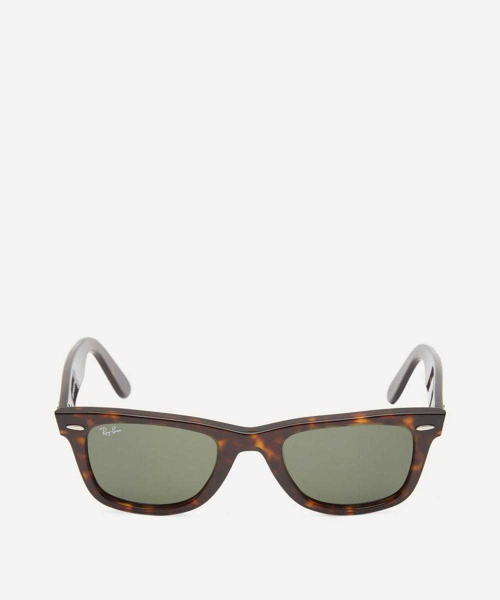 Tortoiseshell Wayfarer Sunglasses