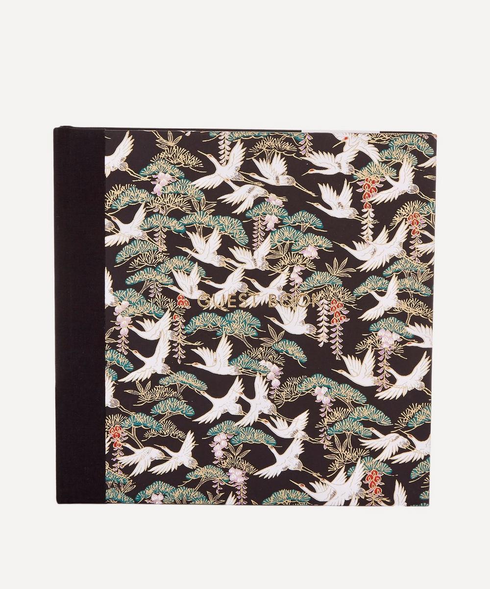 Flying Cranes Guest Book