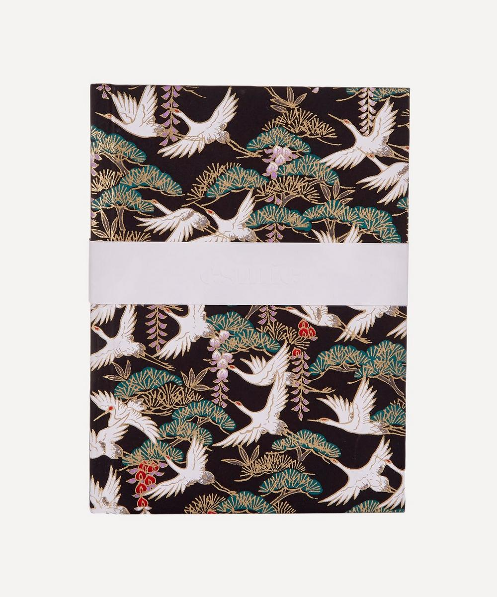 Flying Cranes Small Notebook