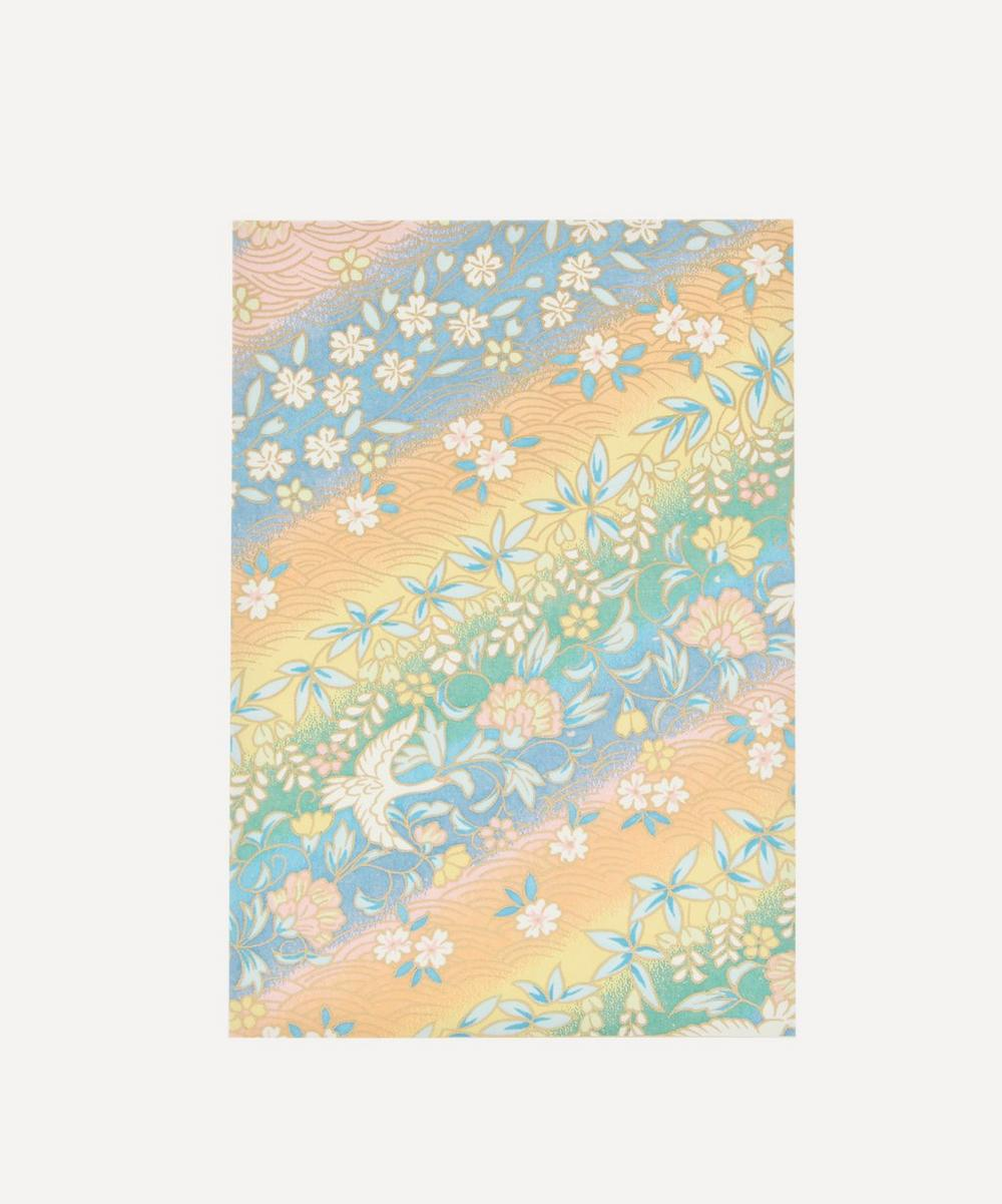 Liberty - Rainbow Flowers Greeting Card