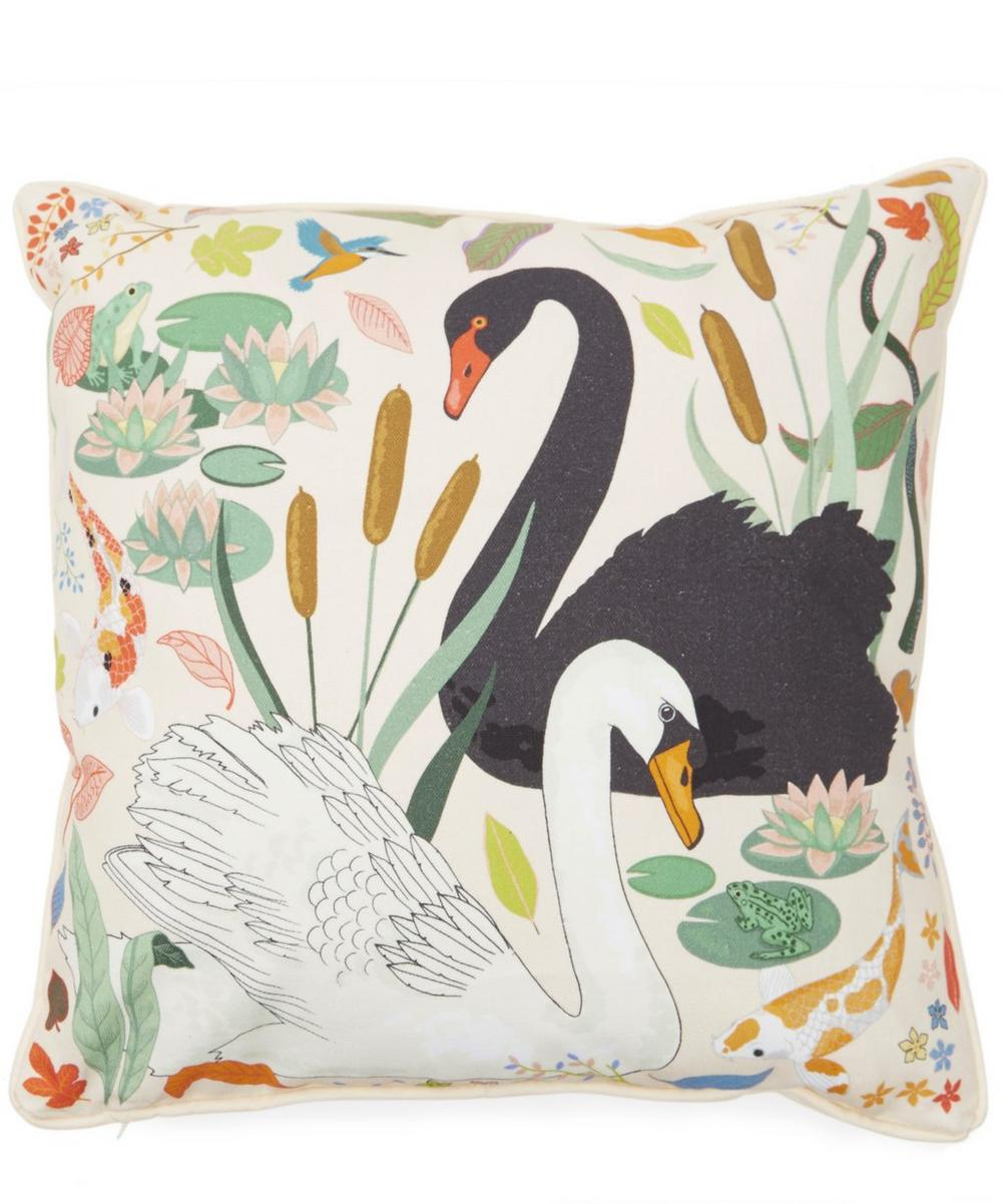 Small Lily Pond Cushion