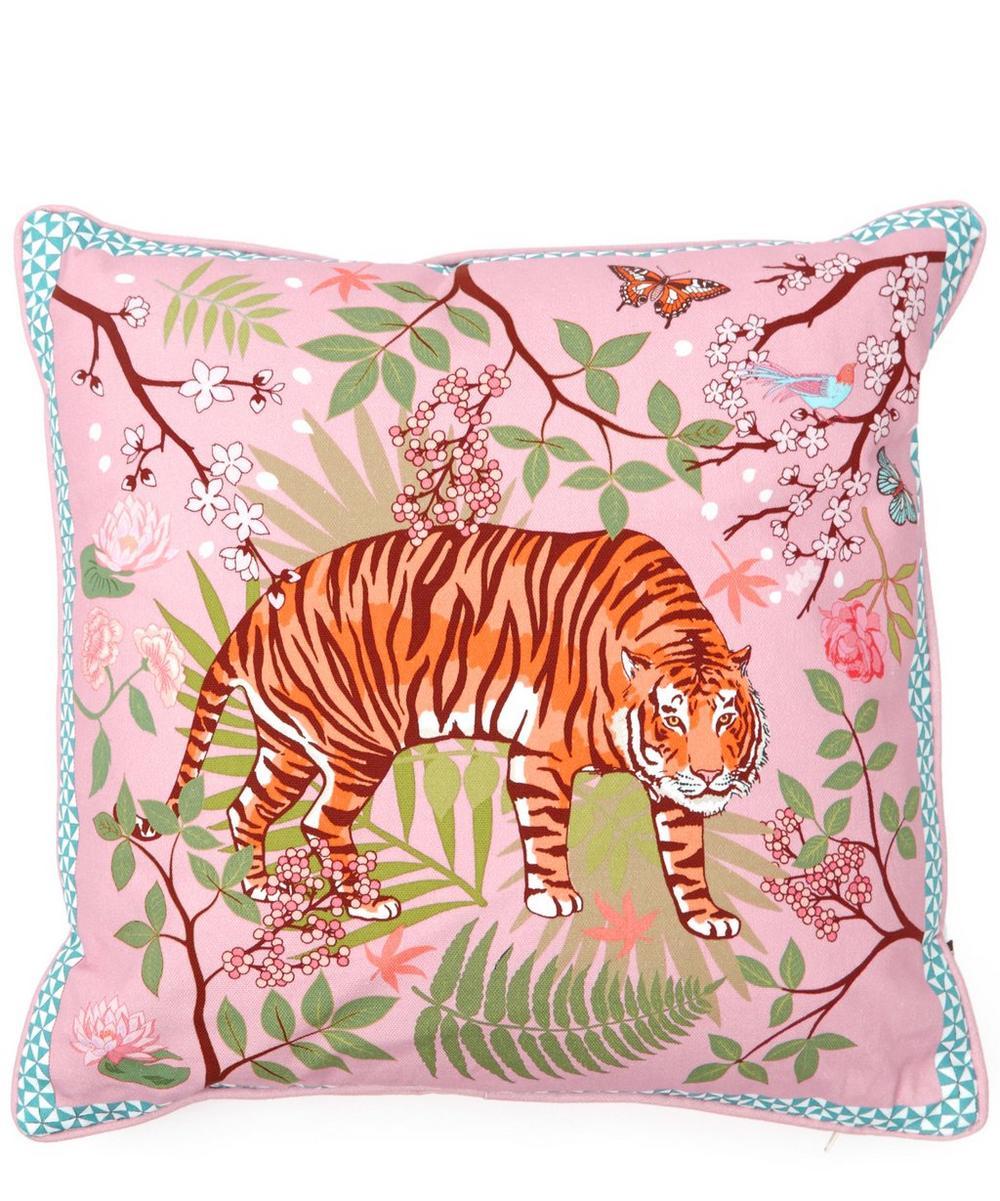 Small Tiger Blossom Cushion