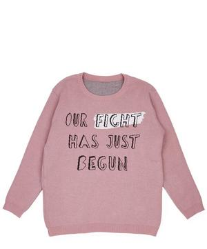 Our Fight Has Just Begun Knitted Jumper 2-8 Years