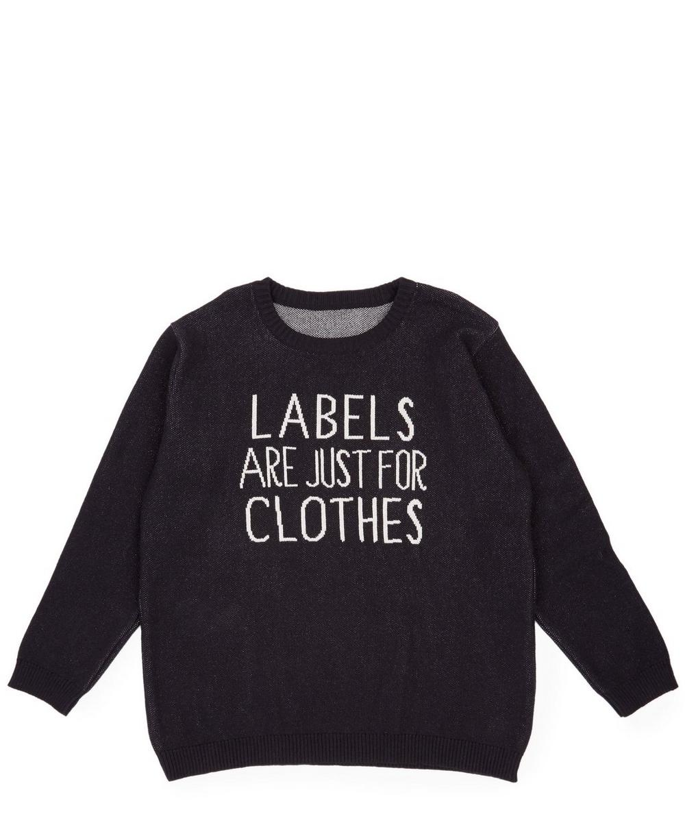 Labels Are Just For Clothes Knitted Jumper 2-8 Years