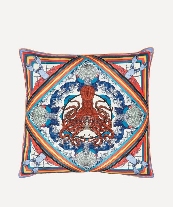 Silken Favours - Octoscopic Cushion