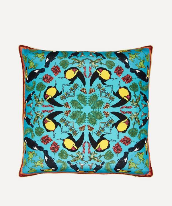 Silken Favours - Toucantastic Cushion