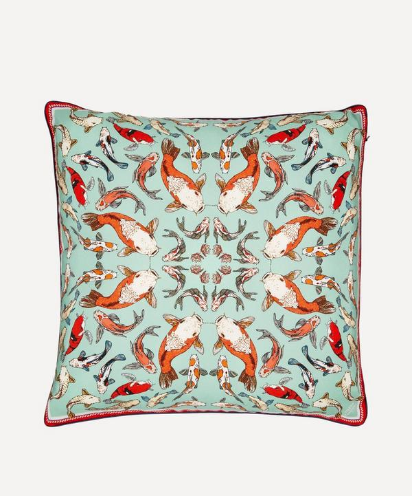 Silken Favours - Koi Carp Cushion