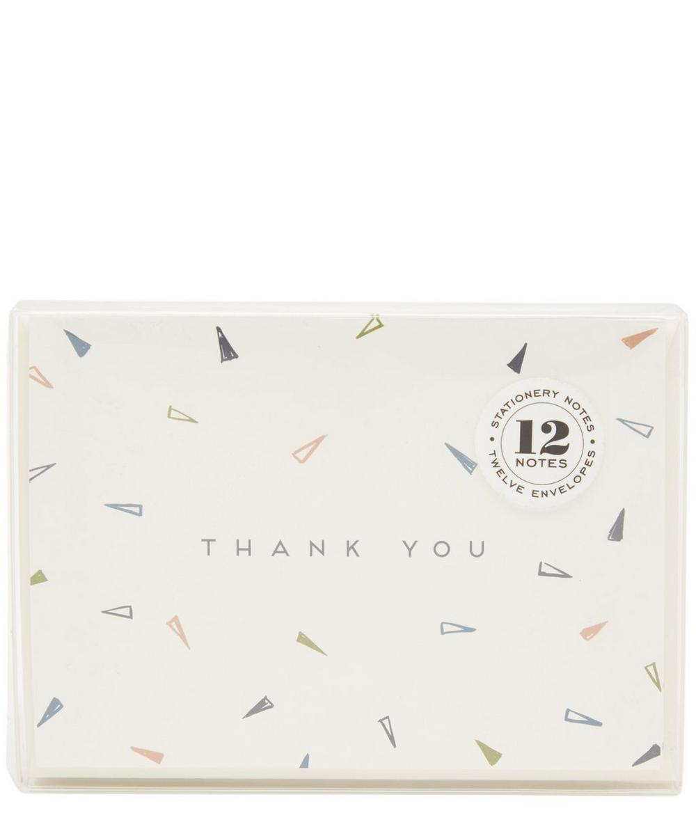Triangle Thank You Notecard Set