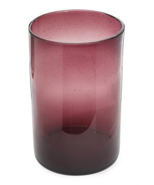 Bubble Cylinder Glass Vase 28cm