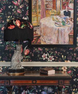 Cheetah Lampstand