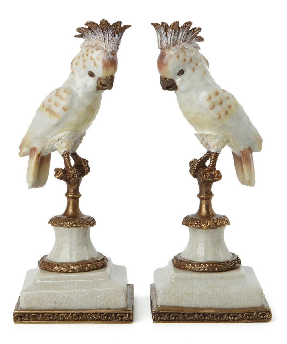 Cockatoo Bookends