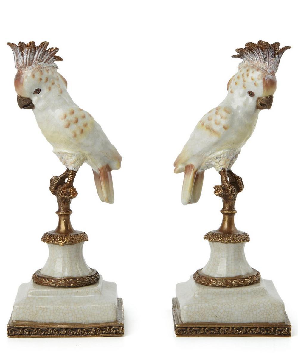 Cockatoo Bookends