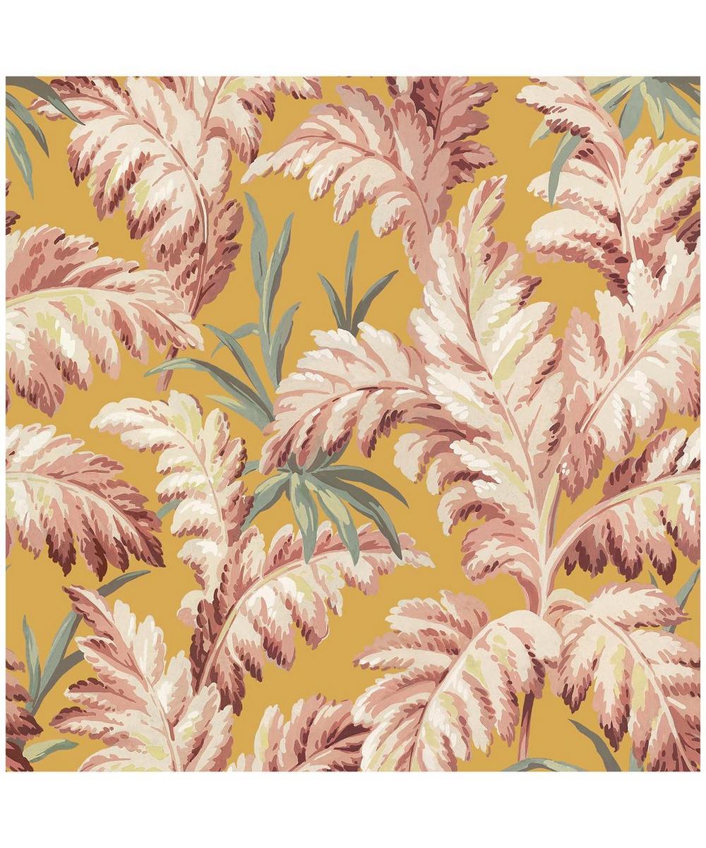 Pluma Flaxen Wallpaper