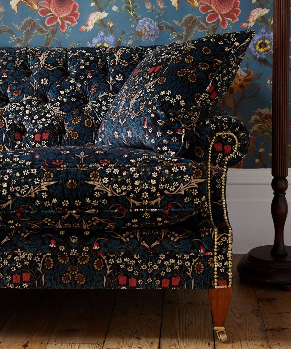 Blackthorn Velvet Fabric