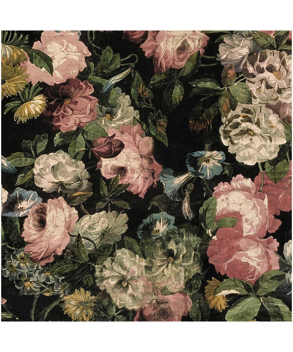 Midnight Garden Velvet Fabric