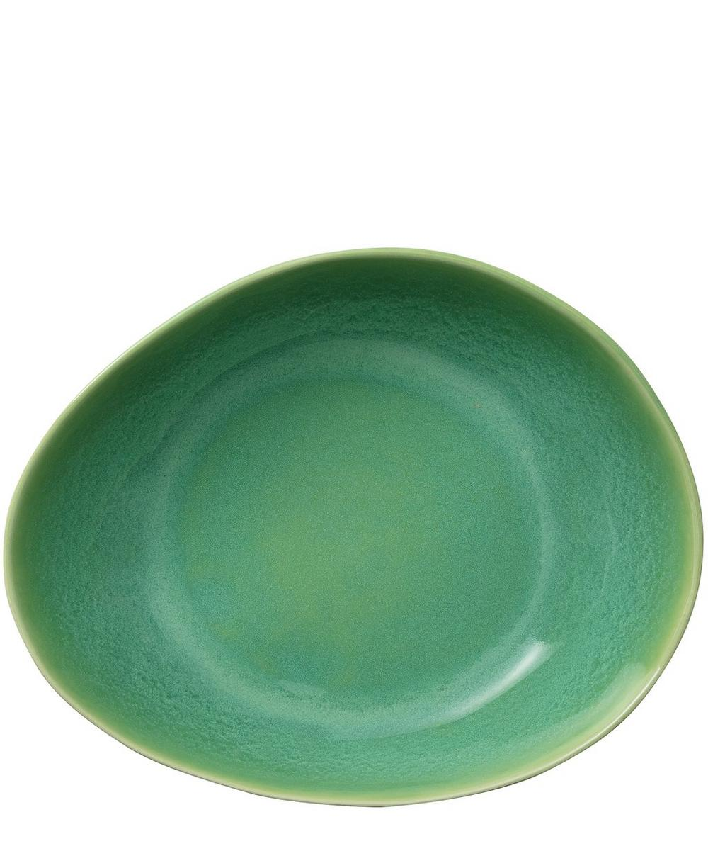 Crackle Glazed Pasta Bowl