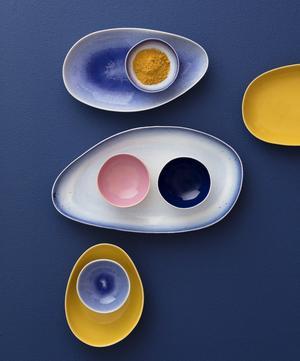 Crackle Glazed Large Oval Platter