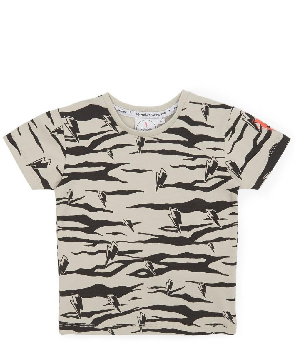 Super Cool Lucky Tiger T-Shirt  1-7 Years