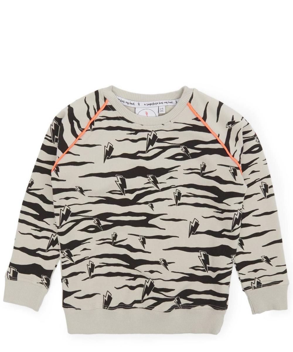 Lucky Tiger Sweatshirt 1-8 Years