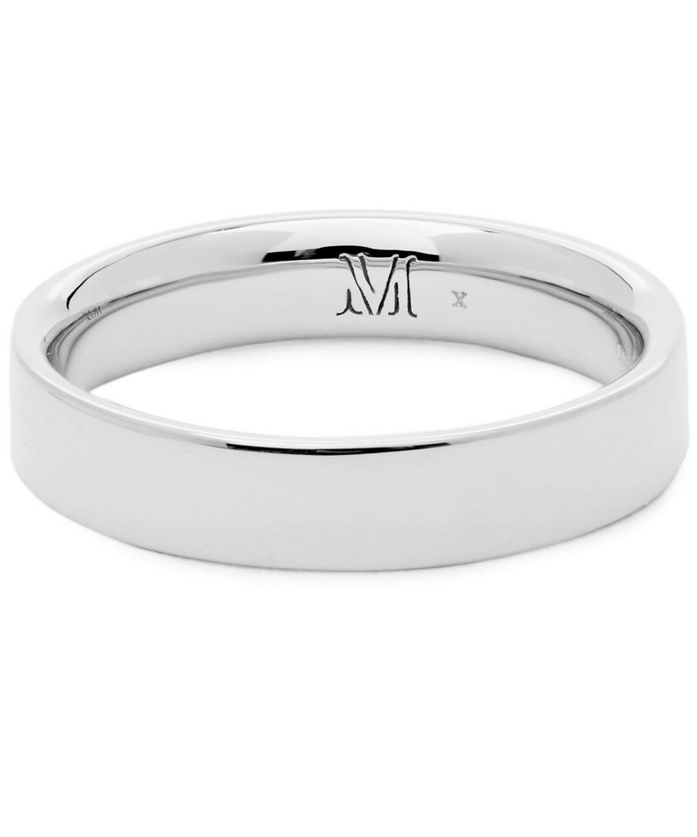 SILVER FIJI STACKING RING