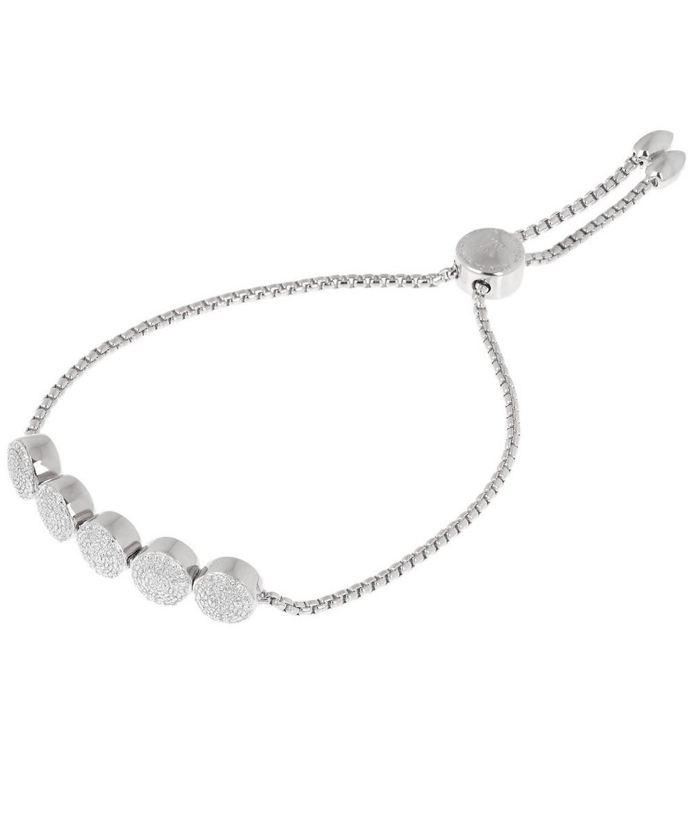 Silver Fiji Button Chain Friendship Bracelet