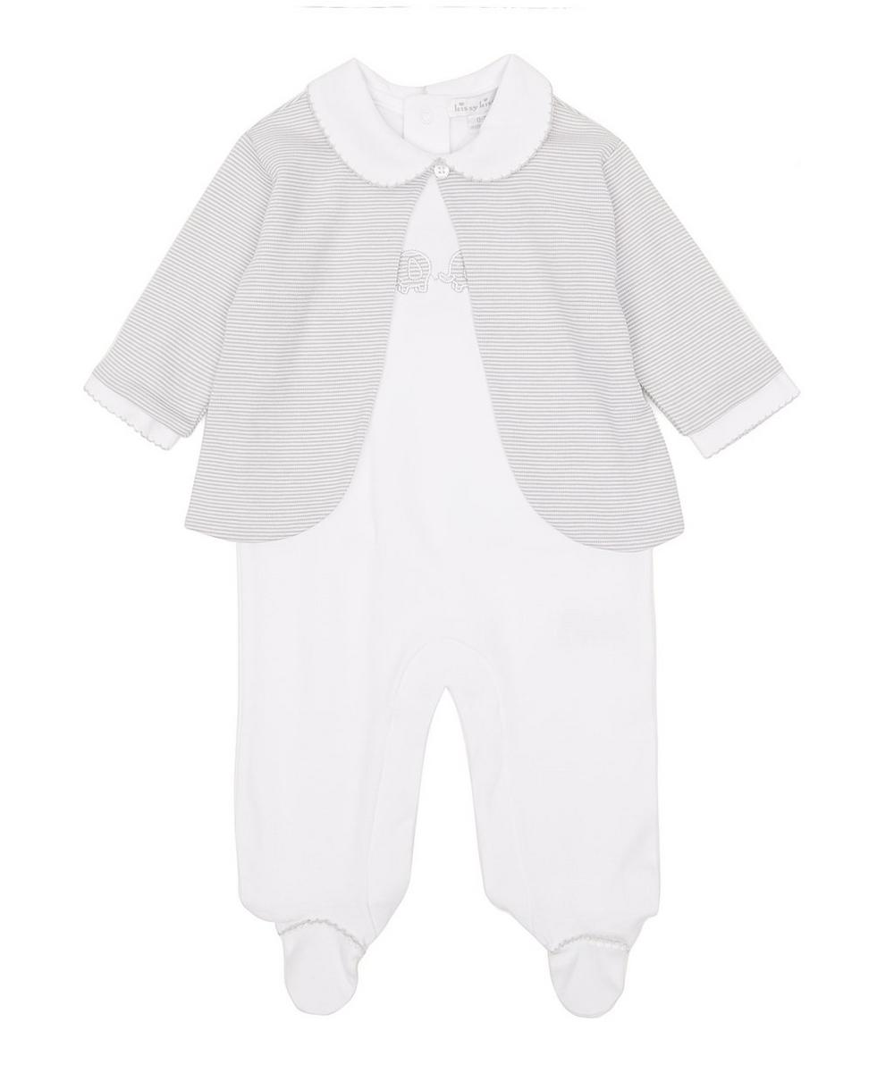 KISSY KISSY TRUNK MATES FOOTIE WITH JACKET