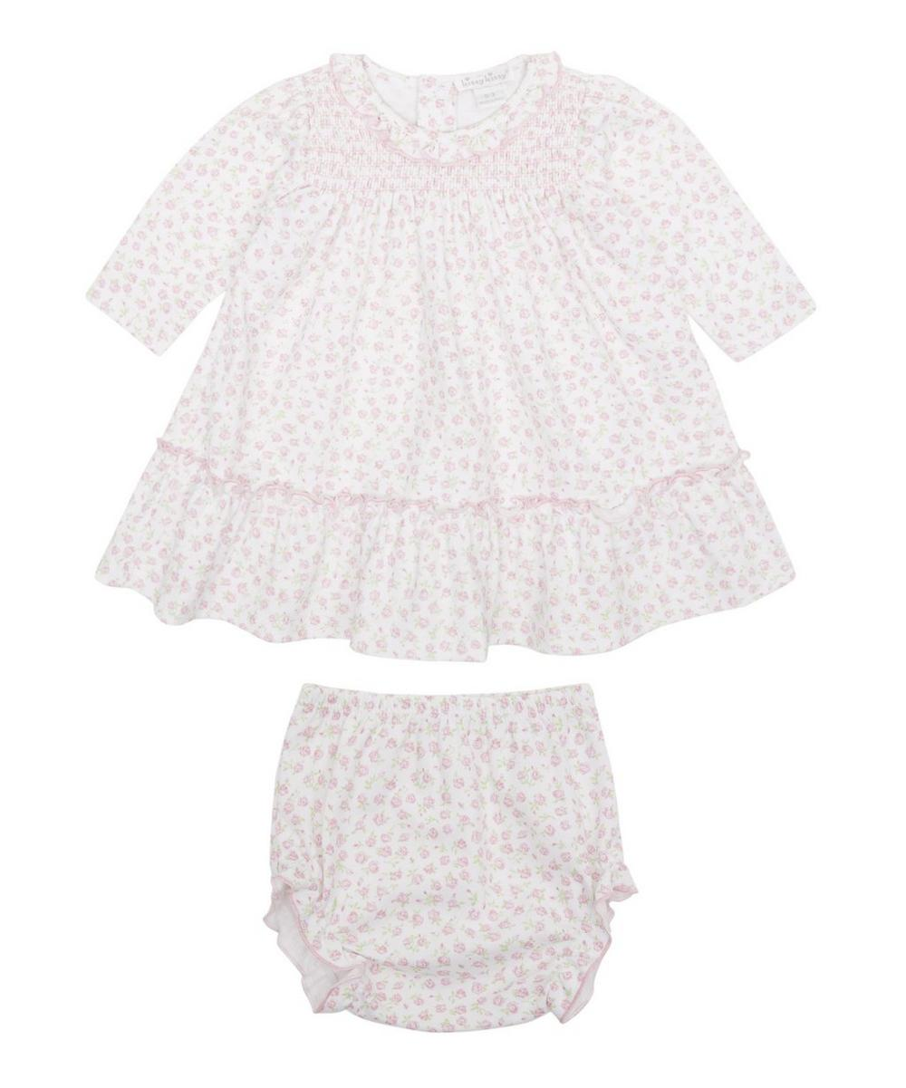 RAMBLING ROSE DRESS SET 0-12 MONTHS