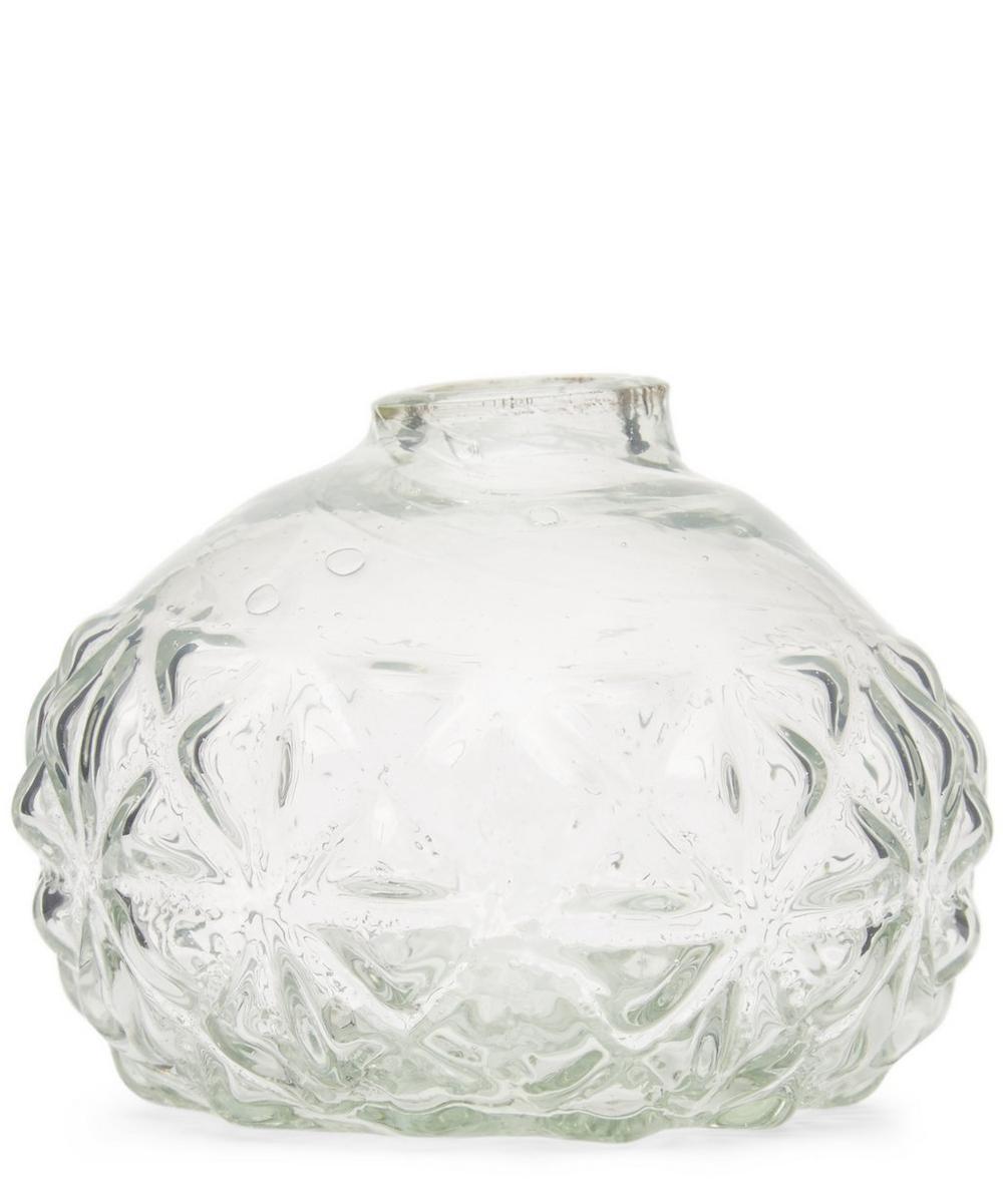 boule a facette glass vase liberty london. Black Bedroom Furniture Sets. Home Design Ideas