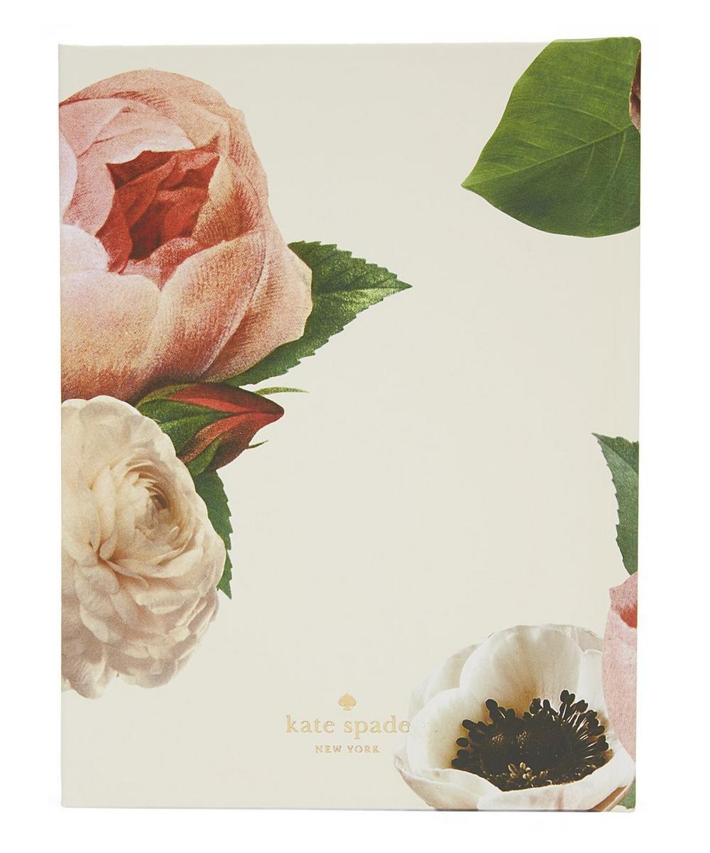 blushing floral bridal gift log liberty london