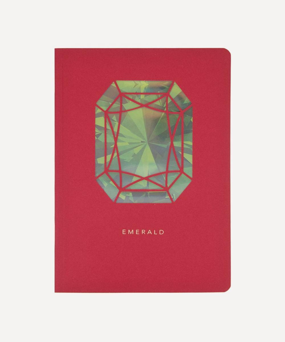 Birthstone Emerald Notebook