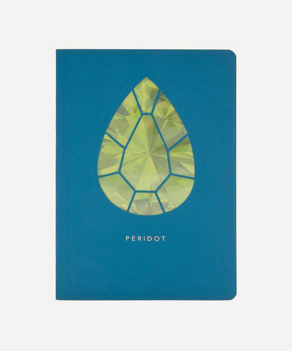 Portico Birthstone Peridot Notebook