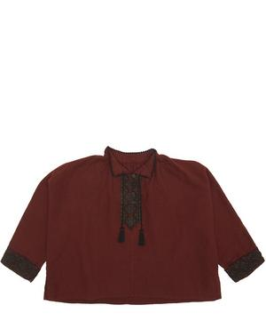 Butterfly Embroidered Blouse 8 Years