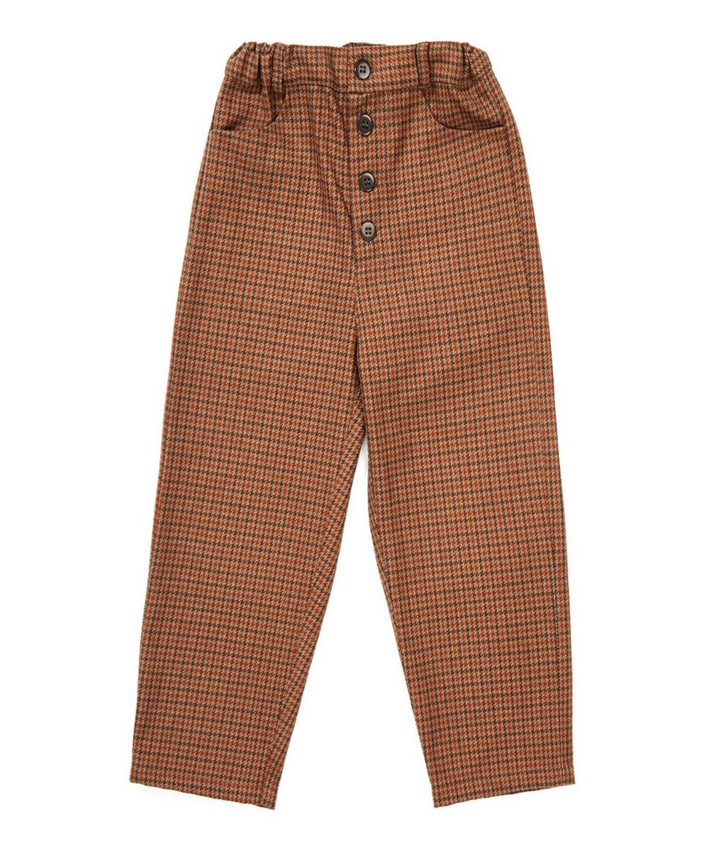 Houndstooth Panda Trousers 3-6 Years