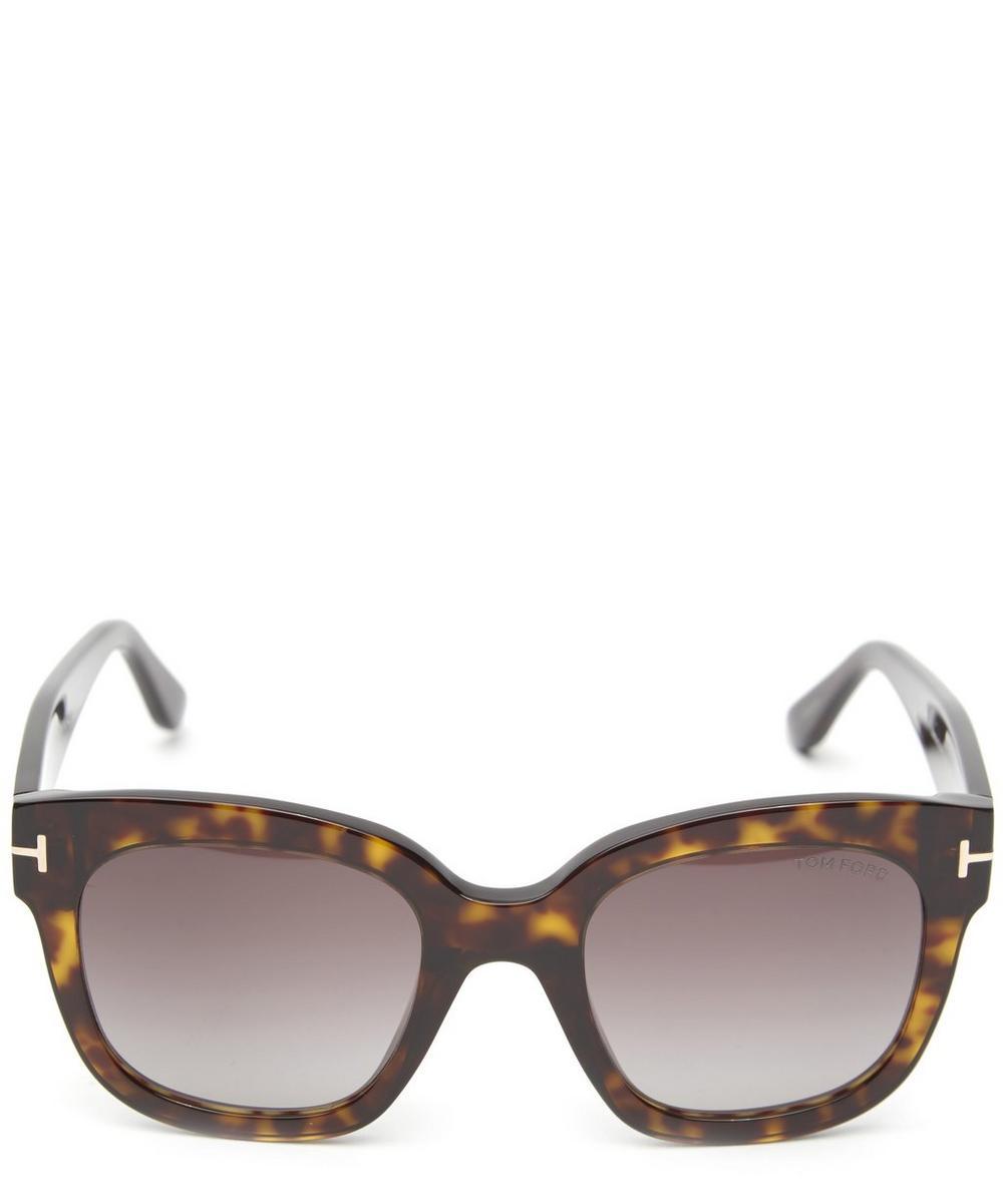 df0ff40a4d Tom Ford Beatrix Square Sunglasses In Brown