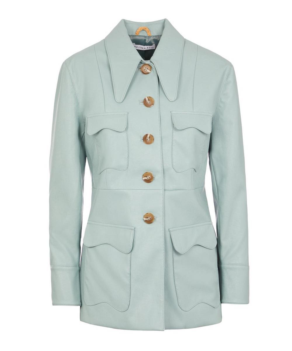 Olivia Vegan Leather Jacket